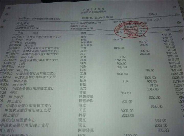 银行对账单翻译_银行对账单英文翻译_银行对账单翻译模板