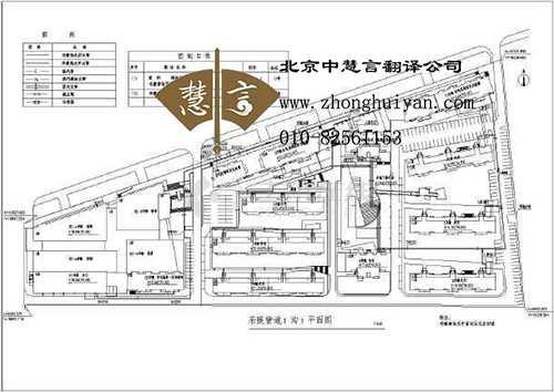 北京翻译公司建筑工程图纸翻译