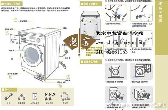 翻译公司分享电器说明书翻译需注意什么