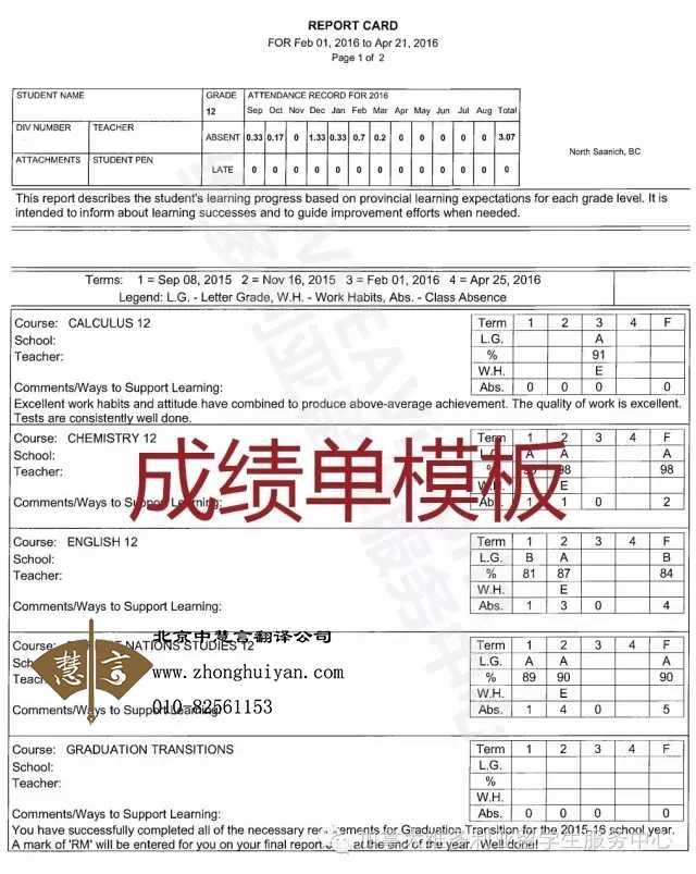 哪家翻译公司提供成绩单公证翻译